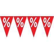 """Низ от знамена със знак """"Процент"""""""