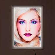 "LED Светлинна рамка Simple"", едностранна"