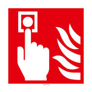 Табела  за пожароизвестителен датчик (ръчно задействане)
