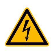 Предупреждение за опасност от токов удар