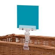 "Поставка за ценови етикети  с усилена щипка и регулируем ъгъл на разположение""Sign Clip"" mit Power-Klammer und verstellbarer Winkeleinstellung"