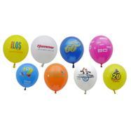 Балони в пъстри цветове, по желание с печат