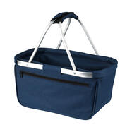"платнена сгъваема пазарска кошница ""BASKET"""