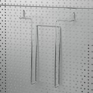 Поставка за брошури за перфорирана стена 4 мм