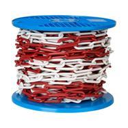Пластмасова верига 6 мм или 8 мм дебелина, различни цветове