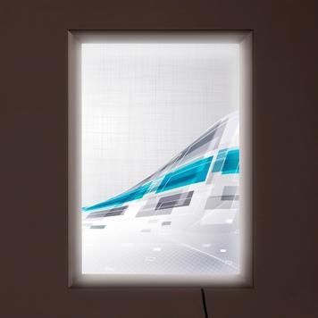 "LED светлинна рамка, двустранна, ""Simple"""