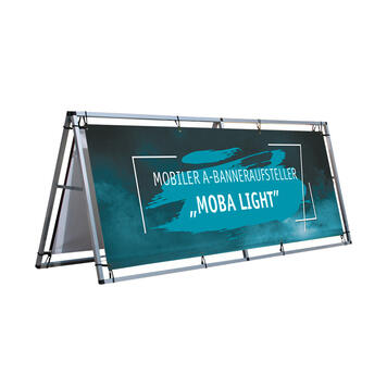 """Мобилна А-борд стойка за банер """"Moba Light"""""""