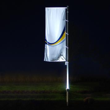 Пилон за знаме, с осветление