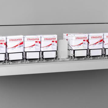 """Стоков озтласквач """"Push VI"""", широк, за тютюневи изделия"""