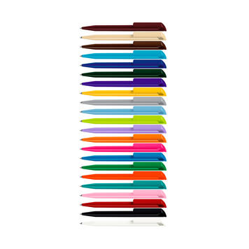 Химикалка РОР с масивна пластмасова скоба