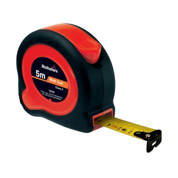 Стоманена рулетка черна / червена дължина 3, 5 или 8 метра