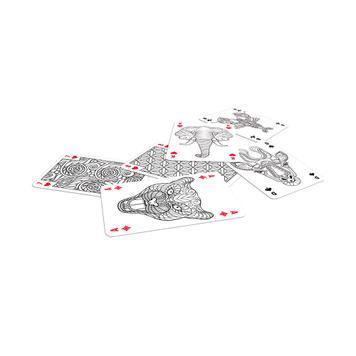 Карти за игра и оцветяване