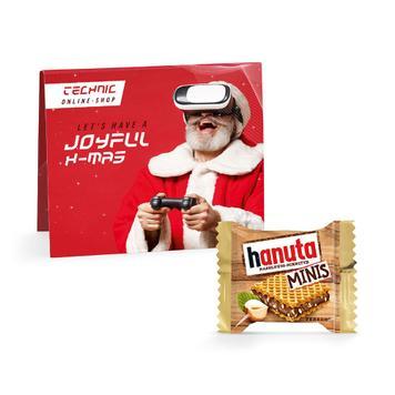 Hanuta Mini с рекламна картичка