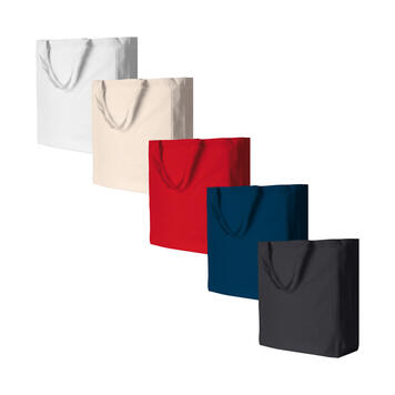 """Памучна чанта """"Shanghai"""" с къси дръжки"""
