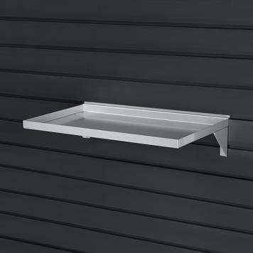 Поставка за стени  FlexiSlot®-Ablage с 2 отвора за монтаж