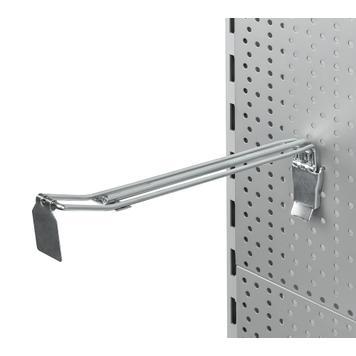 Перфорирана стена за тежки предмети, двойна кука