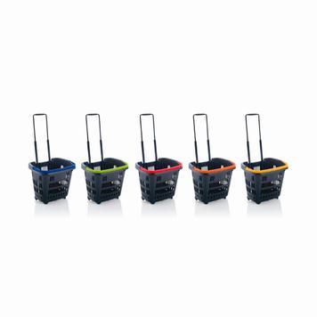 Кошници за покупки 34 L с колелца