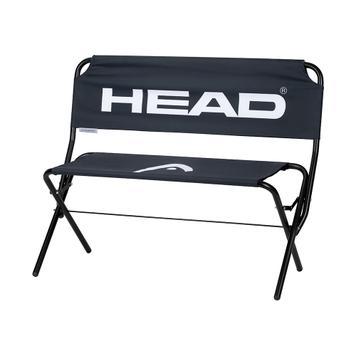 Скамейка с лого за две лица