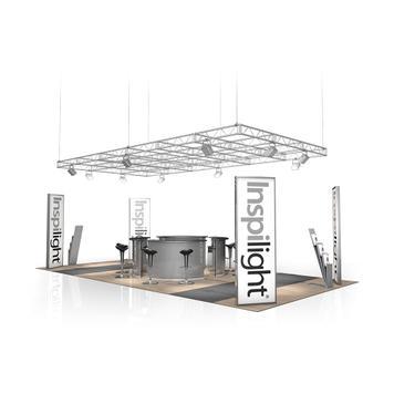 Покривна конструкция за изложбени щандове /от FD 2