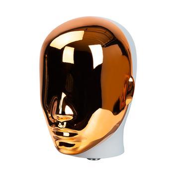 """Глава на витринен манекен в златист цвят """"Маgic"""""""