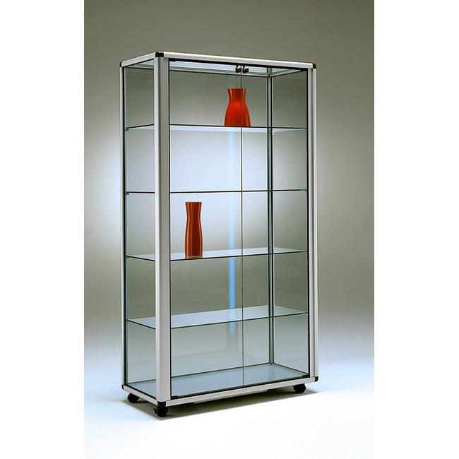 """Свободностояща витрина """"Neon"""", с 2 врати и колелца"""