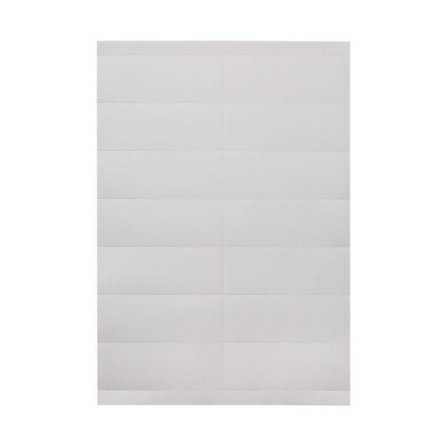 Перфорирана хартия за печат на етикети