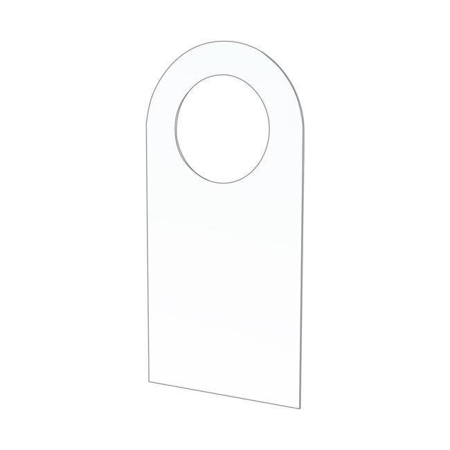 Самозалепваща кука с ø 15 мм кръгъл отвор за блистерни опаковки