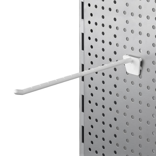 "Пластмасова единична кука за перфорирана стена ""ATB"""