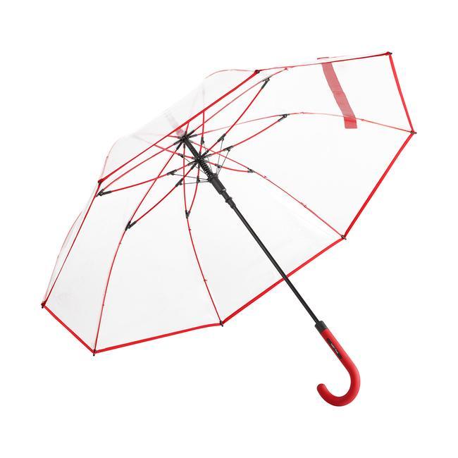 """AC чадър """"Pure"""" от прозрачна пластмаса"""