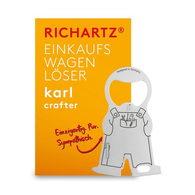 """Токен за пазарска количка RICHARTZ """"Karl Home and Craftsman"""""""
