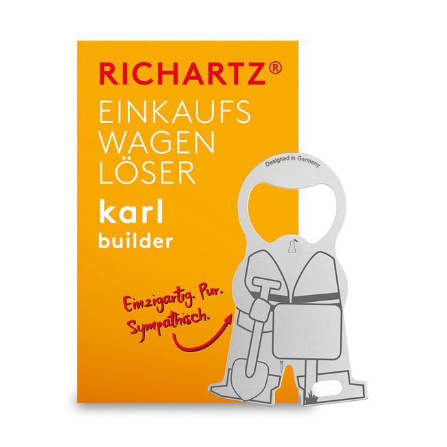 """Токен за пазарска количка RICHARTZ """"Karl Construction Worker"""""""