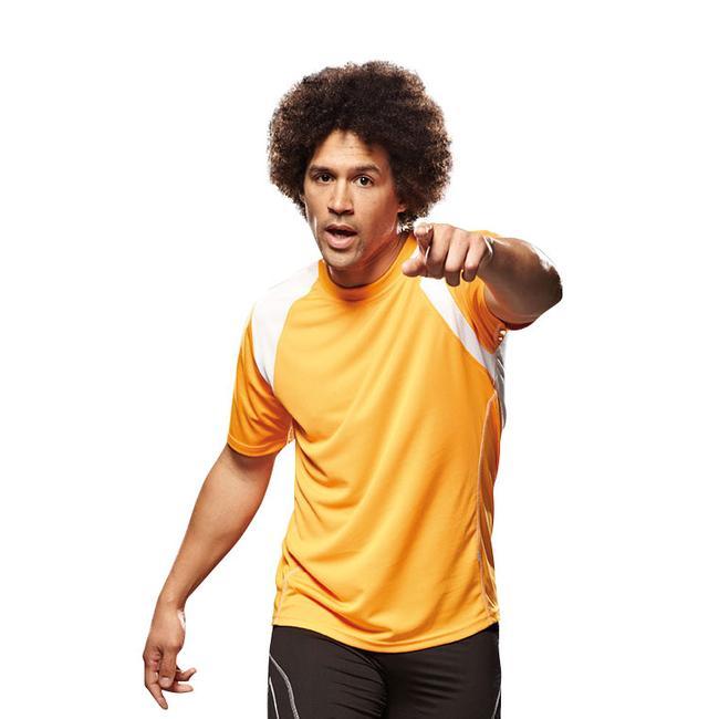 Мъжка тениска, двуцветна