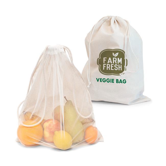 """Торби за плодове и зеленчуци """"Mumbai """". 100% памук"""