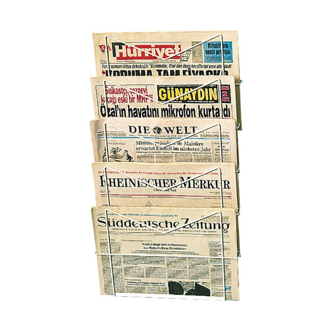 Стелаж за вестници I