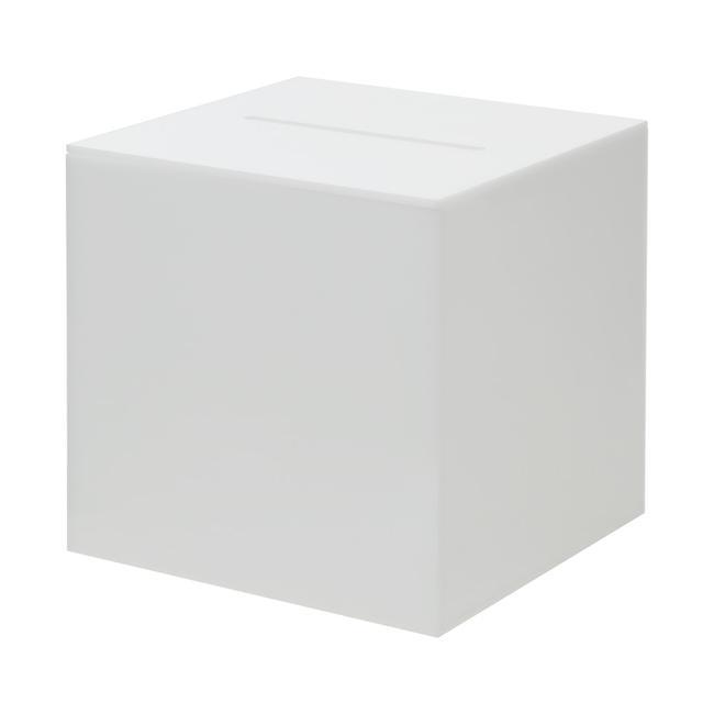 Лотарийна кутия опал от непрозрачно акрилно стъкло