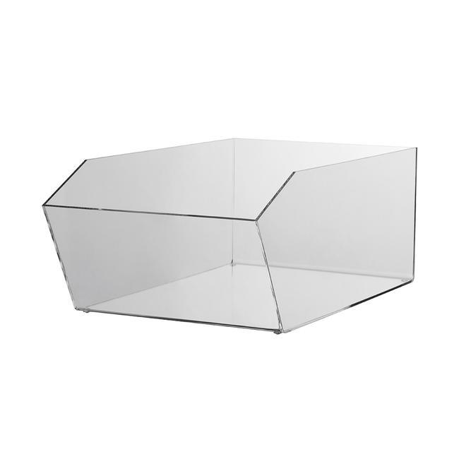 Кутия за продукти от прозрачен плексиглас