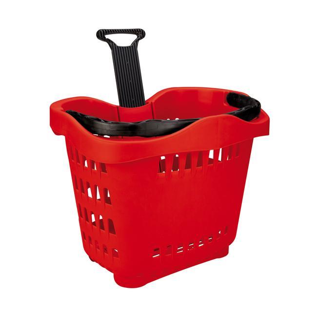 """Пазарска кошница на колела """"TL-1"""", 55 литра обем"""