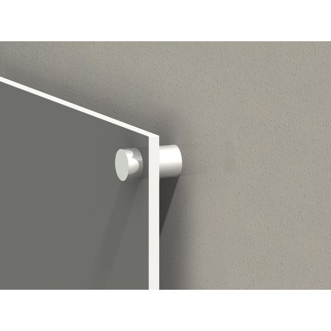 Стенно закрепване за табели с 10 мм дебелина