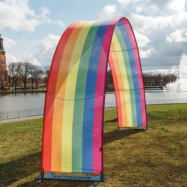 Банер дъга външна – рекламна дъга за мероприятия