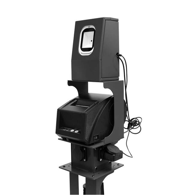 Баркод скенер с принтер за бариерни стойки