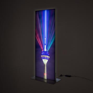 LED стреч-рамка за колона, двустранна
