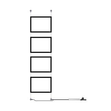 """Крепежни елементи за монтаж на стена за """"Display IT"""""""