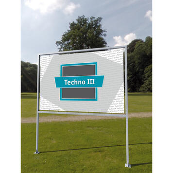 """Рекламна система Techno III """"основа за бетониране"""""""