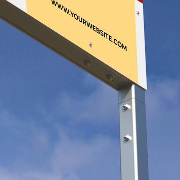 """Табела за външна реклама Techno """"Fundament"""""""