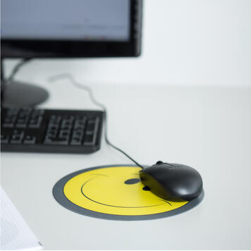Кръгла подложка за мишка с печат