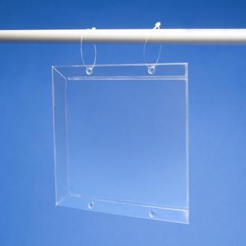 PVC джоб за цени със страничен капак