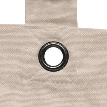 """Фиксирана памучна чанта """"Lantau"""" с дълги дръжки"""