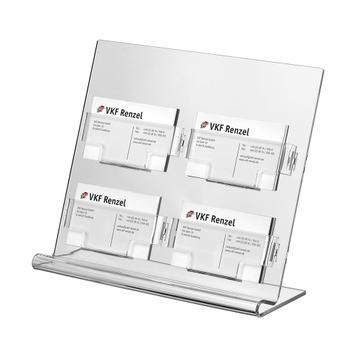 """Поставка за визитки или подаръчни ваучери с 4 позиции """"Olea"""""""