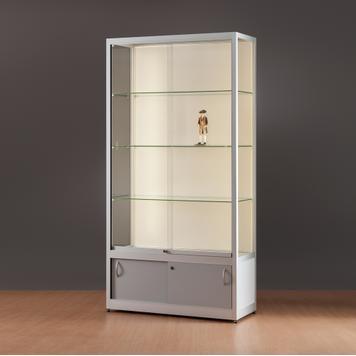 "Профилна витрина с LED-профил ""1.000"""