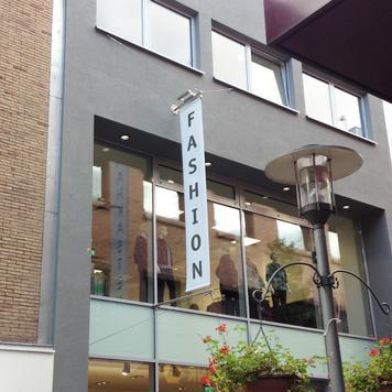 Банер с цифров печат за рекламна система Inox
